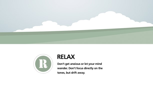 Step 5: Relax