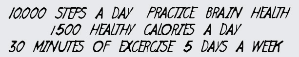 Daily Health Fitness Goals