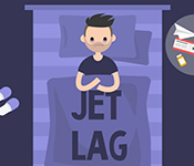 How To Cure Jet Lag with Circadian Rhythm Desynchronosis