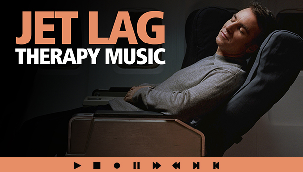 Jet Lag Music for Circadian Rhythm Desynchronosis