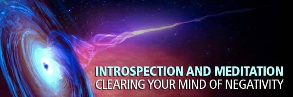 Introspection and Meditation with Black Hole Mind Mapping