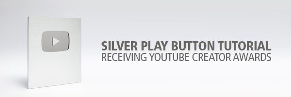 Silver Play Button Tutorial