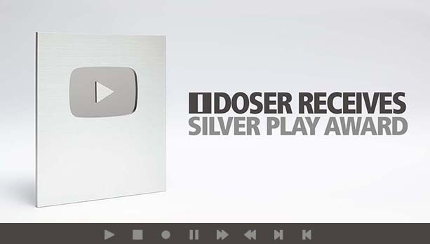 YouTube Silver PlayAward About popular youtube channels
