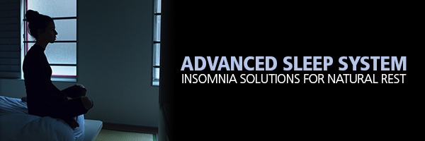 Sleep System For Insomniacs and Insomnia Solutions with Natural Sleep Aids