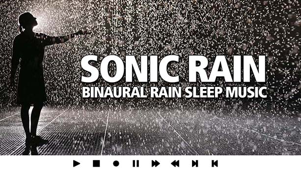 Sleep Music Rain Sounds Binaural Recording Congo Rainforest