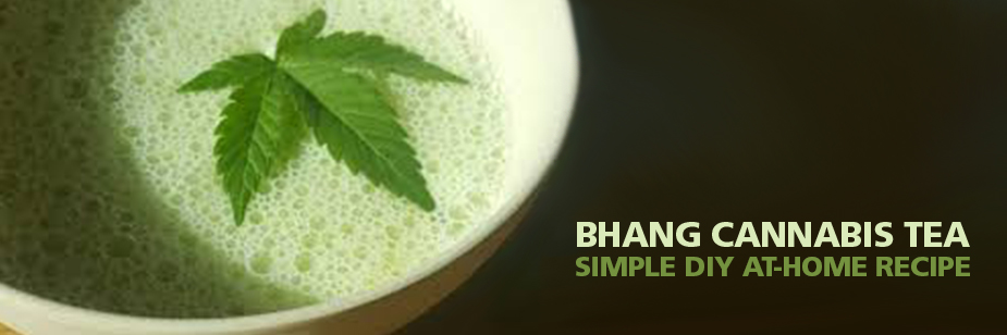 Easy Bhang Cannabis Tea Recipe