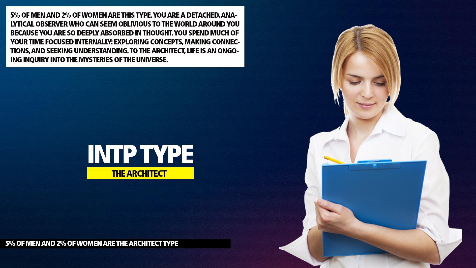 MBTI INTP Architect Type