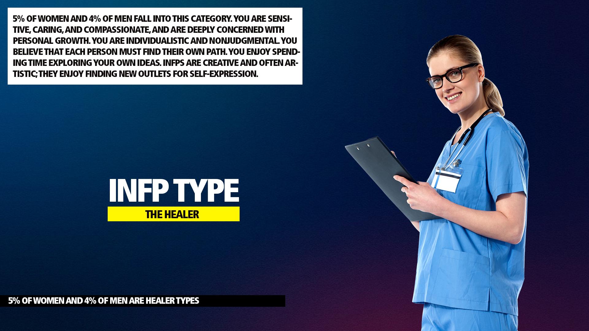 MBTI INFP Healer Type