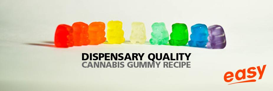 Dispensary Quality Cannabis Gummy Recipe