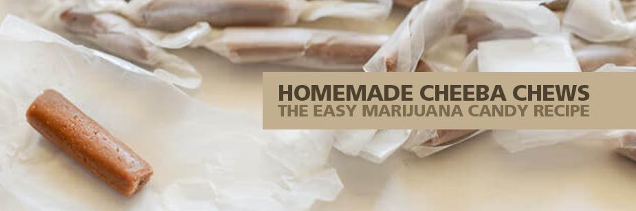Homemade Cheeba Chews Cook Marijuana Candy